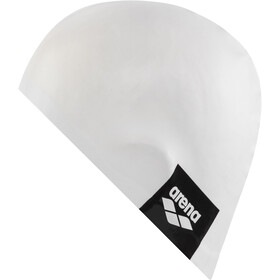 arena Logo Moulded Swimming Cap, white